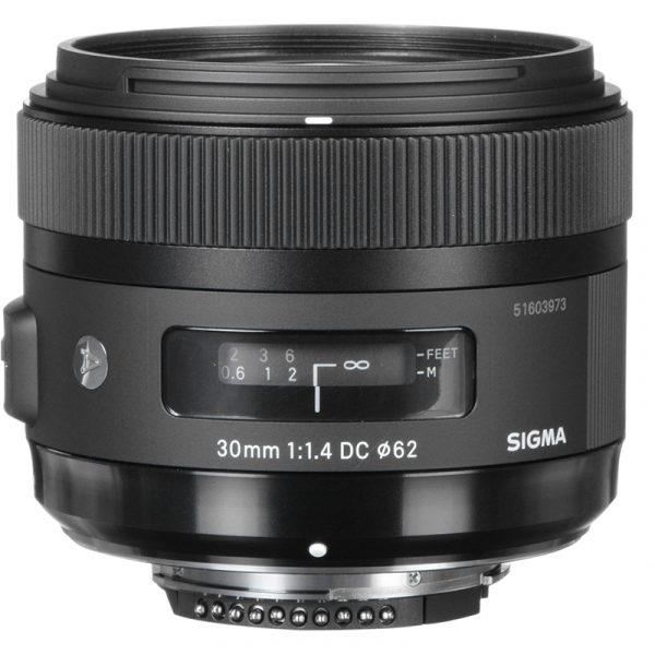 Sigma 30mm F1.4 DC HSM(A) For Nikon