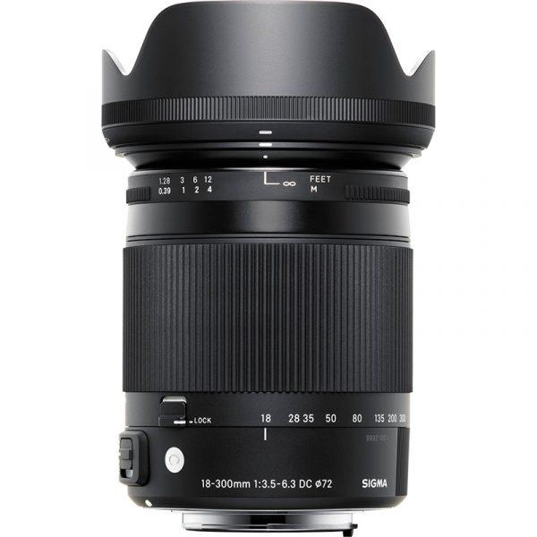Sigma 18-300mm F3.5-6.3 DC Macro OS HSM (C) For Nikon