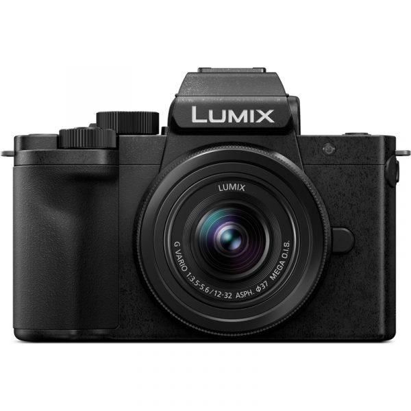 Panasonic Lumix G-100 Kit 12-32 Black Plus Tripod Grip